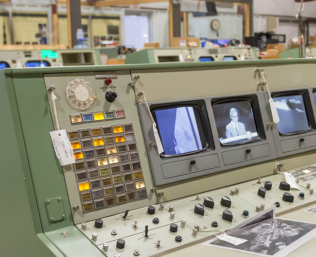 Mission Operations Control Room Console Final News Stories