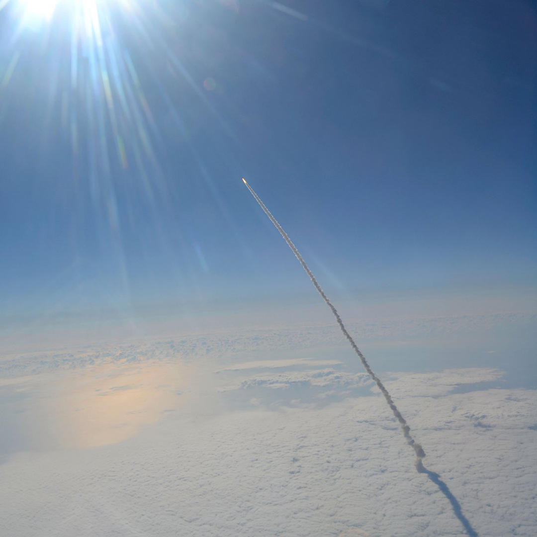 The Final Launch of the Space Shuttle Endeavour