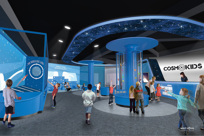Cosmosphere to Be More Family Friendly Thanks to Sunderland Foundation Gift