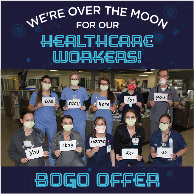 We're Over the Moon for Our Healthcare Workers!