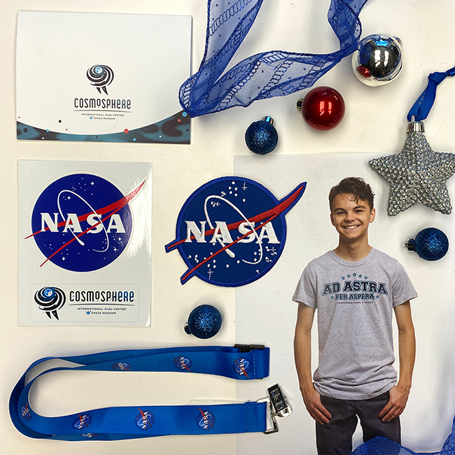 Purchase the Holiday Bundle in November to give the gift of Cosmosphere Camp!