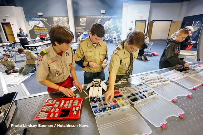 Hundreds of Boy Scouts descend on Cosmosphere, HCC for merit badge event