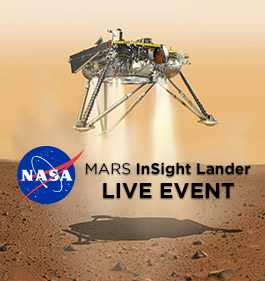 LIVE IMAGES FROM MARS TO BE SHOWN AT COSMOSPHERE
