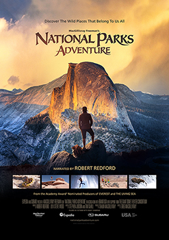 National Parks Adventure, Narrated by Academy Award® Winner Robert Redford, Opens at the Cosmosphere