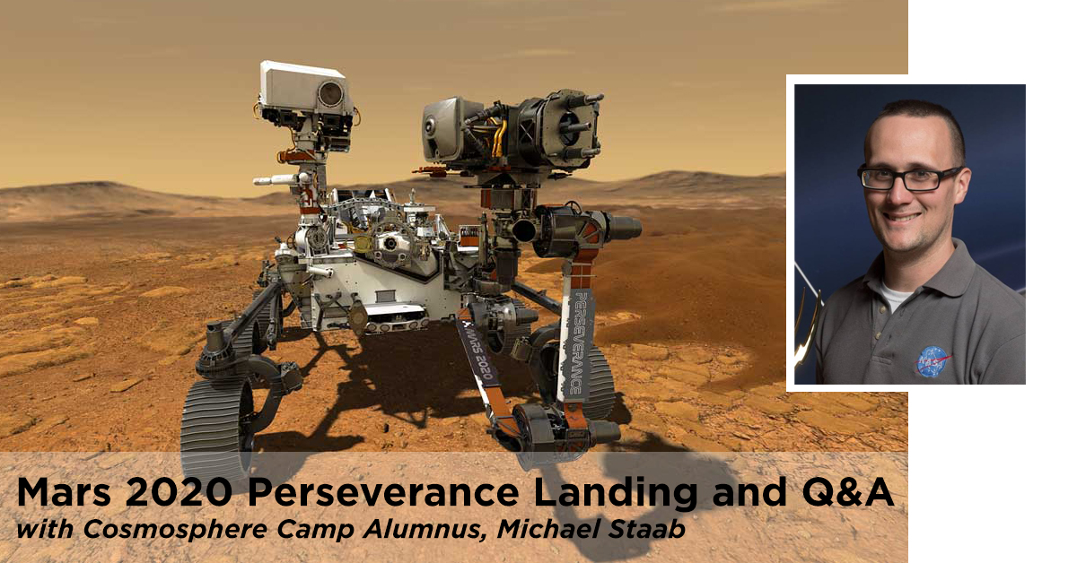 MARS 2020 PERSEVERANCE LANDING AND Q&A