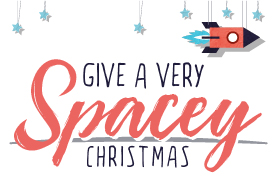 Give a Very Spacey Christmas!