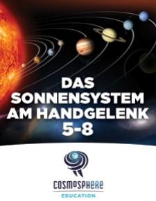 Das Sonnensystem am Handgelenk 5-8