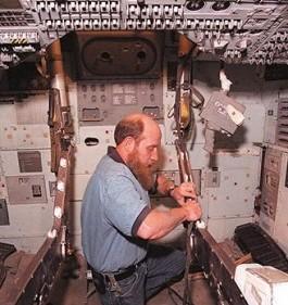 Restoration of apollo 13 command module Odyssey