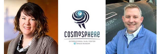 Cosmosphere Executive Team Grows