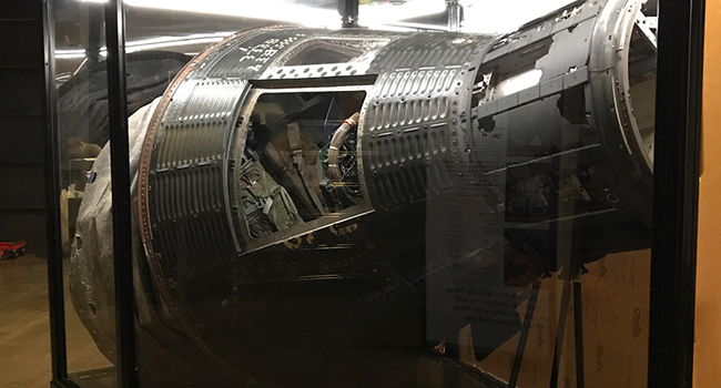 Liberty Bell 7 Mercury Spacecraft Set To Land At Museum At Prairiefire
