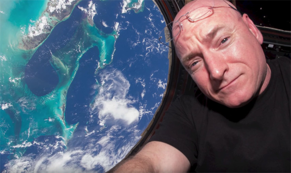 Welcome Home Scott Kelly! How are your fingernails?